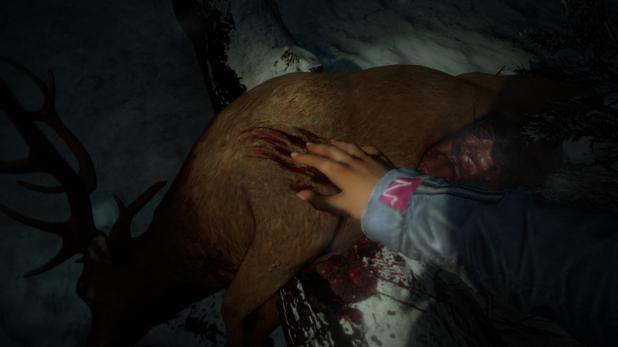Until Dawn dead stag