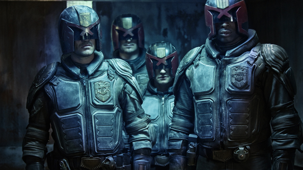 Dredd law enforcers