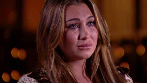 Lauren Goodger in TOWIE.