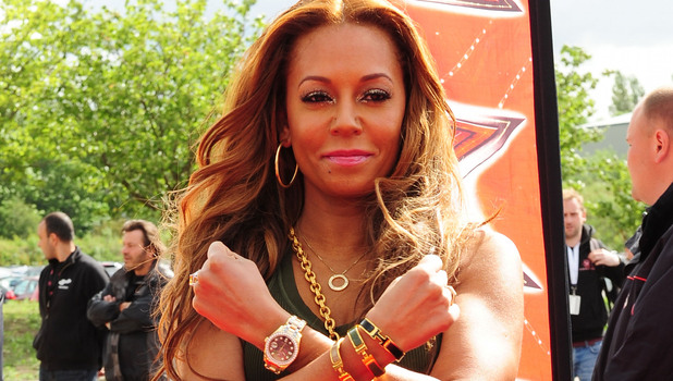 Melanie Brown aka Mel B The X Factor auditions Manchester, England - 06.06.12 Mandatory Credit: WENN.com