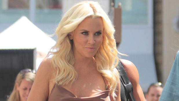Jenny McCarthy. Celebrities at The Grove to appear on entertainment news show &#39;Extra&#39;