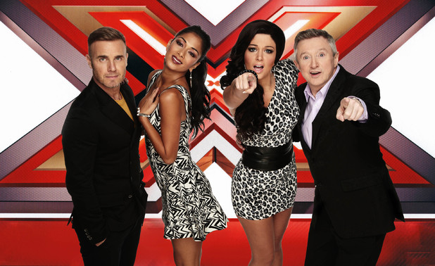 X Factor, Gary, Louis, Tulisa, Nicole