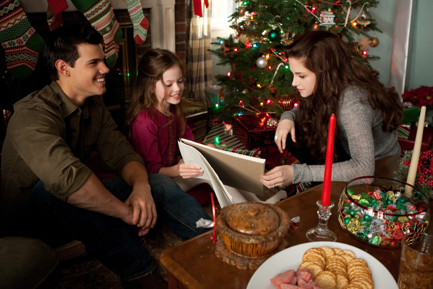 Jacob, Bella and Renesmee