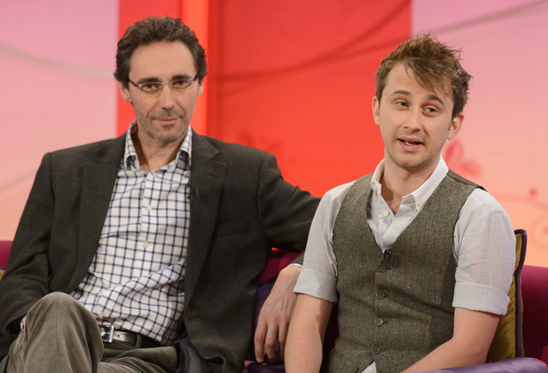 Holby City's Guy Henry and Leander Deeny appear on 'Lorraine'