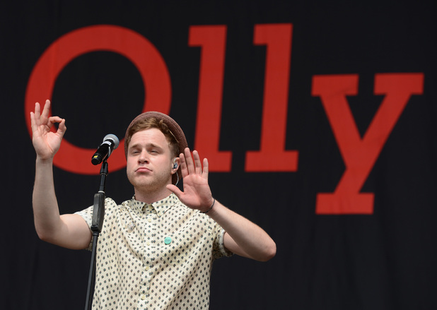 Olly Murs V Festival 2012 held at Hylands Park - Performances - Day Two Essex, England - 19.08.12 Mandatory Credit: WENN.com
