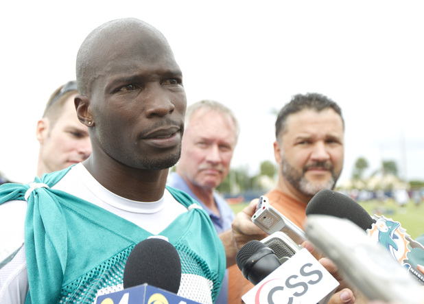 Chad Ochocinco (Chad Johnson) photographed in June 2012