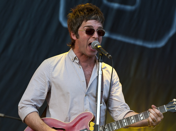 Noel Gallagher of Noel Gallagher's High Flying Birds V Festival 2012 held at Hylands Park - Performances - Day One Essex, England - 18.08.12 Credit: WENN.com