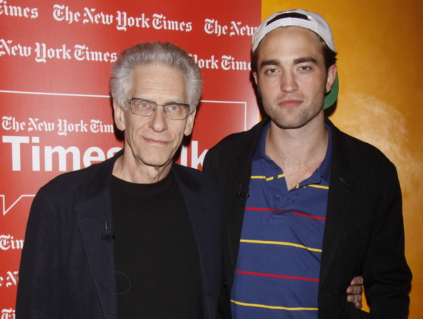 Director David Cronenberg and Robert Pattinson attends TimesTalks Presents: David Cronenberg and Robert Pattinson at The Times Center New York City, USA - 15.08.12 Mandatory Credit: Joseph Marzullo/WENN.com