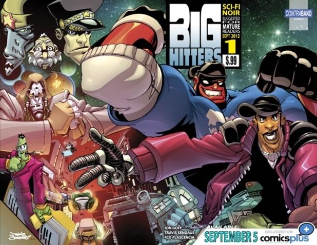 Contraband Comics: Big Hitters