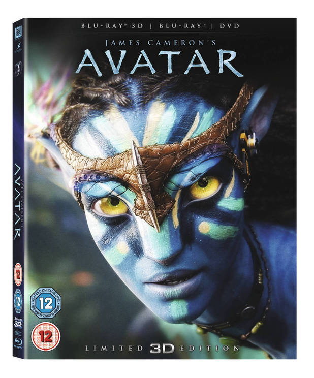 Avatar Blu-ray 3D packshot