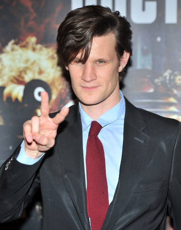 Matt Smith 'Doctor Who: Asylum of the Daleks' TV Preview and Q&A held at the BFI Southbank London, England