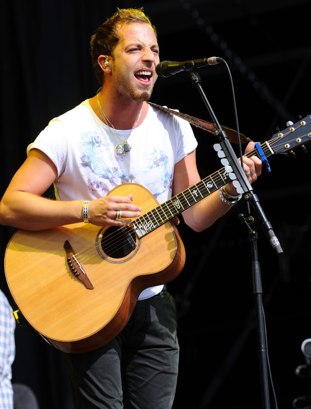V Festival 2012: James Morrison