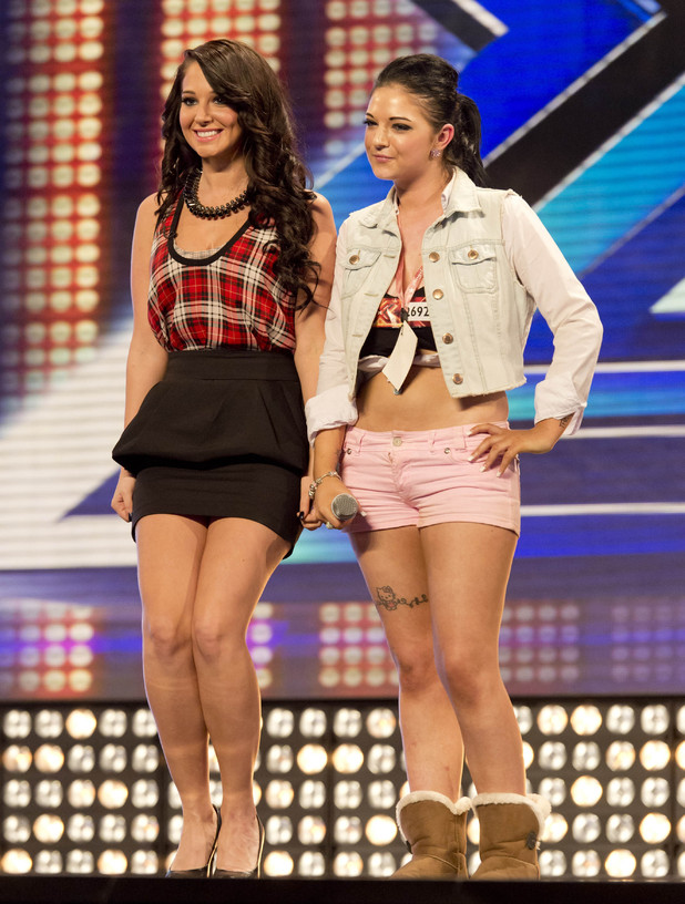 Tulisa and Ashley