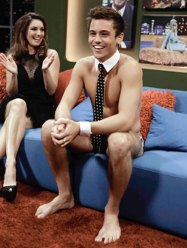Tom Daley on the Johnathan Ross Show