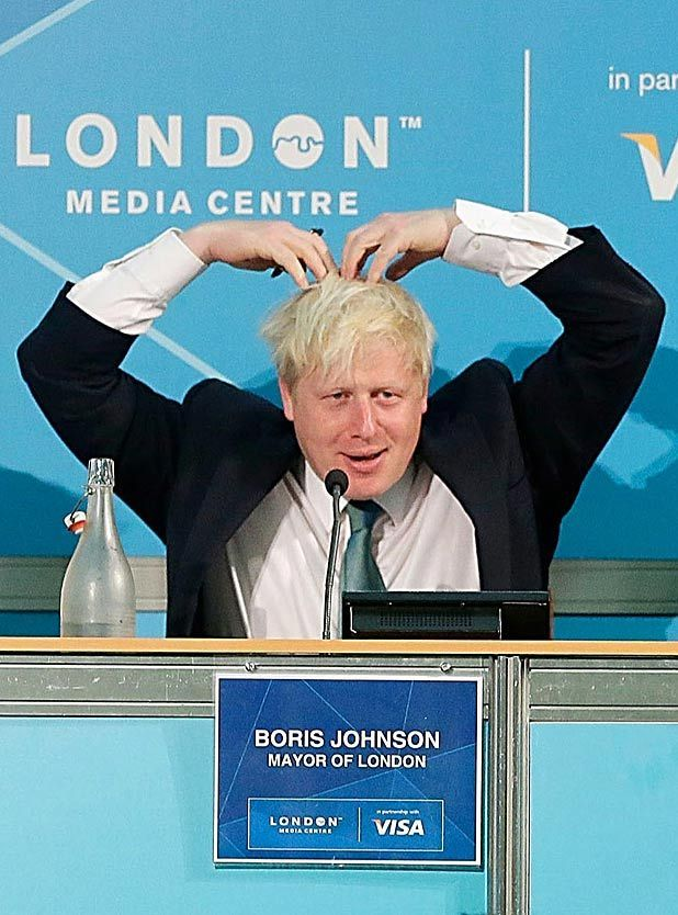 Boris Johnson, London 2012, Mobot, Mo Farah