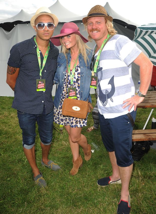 Celebrities at V Festival: Jade Jones, Emma Bunton and Leigh Francis