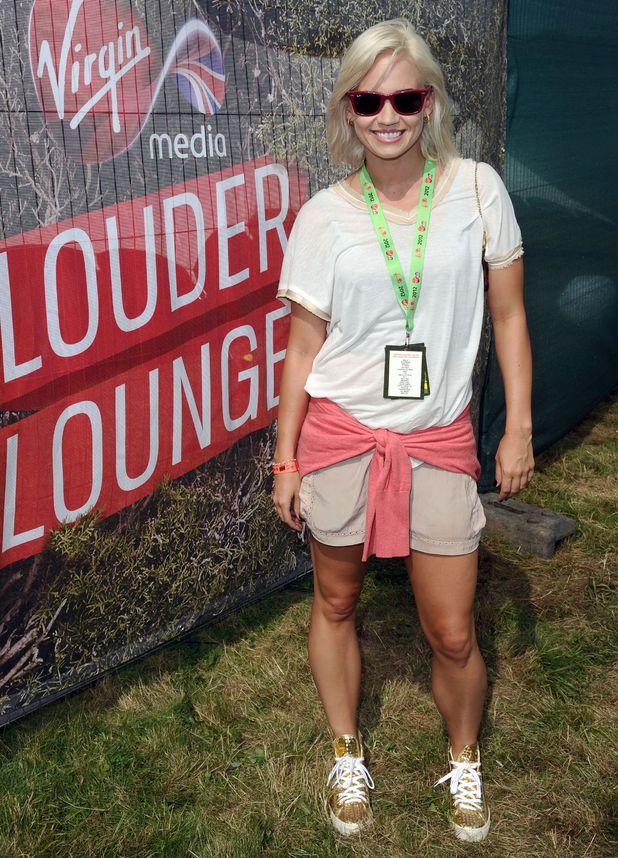 Celebrities at V Festival: Kimberly Wyatt