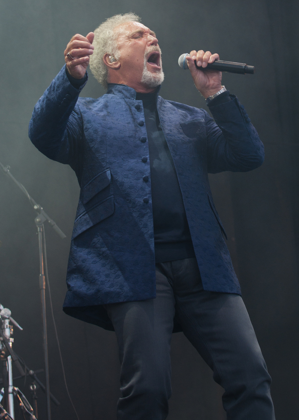 V Festival 2012: Sir Tom Jones