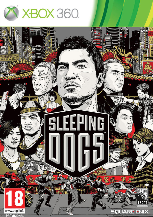 'Sleeping Dogs' Xbox artwork