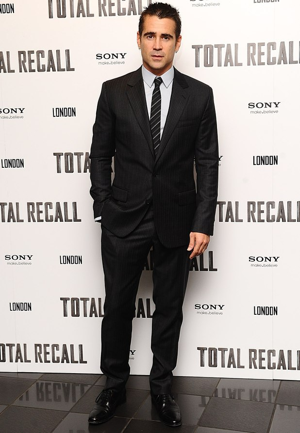 Total Recall UK premiere: Colin Farrell
