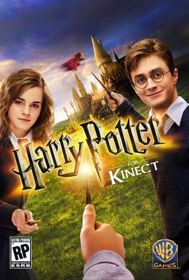 Harry Potter Kinect - key art/packaging