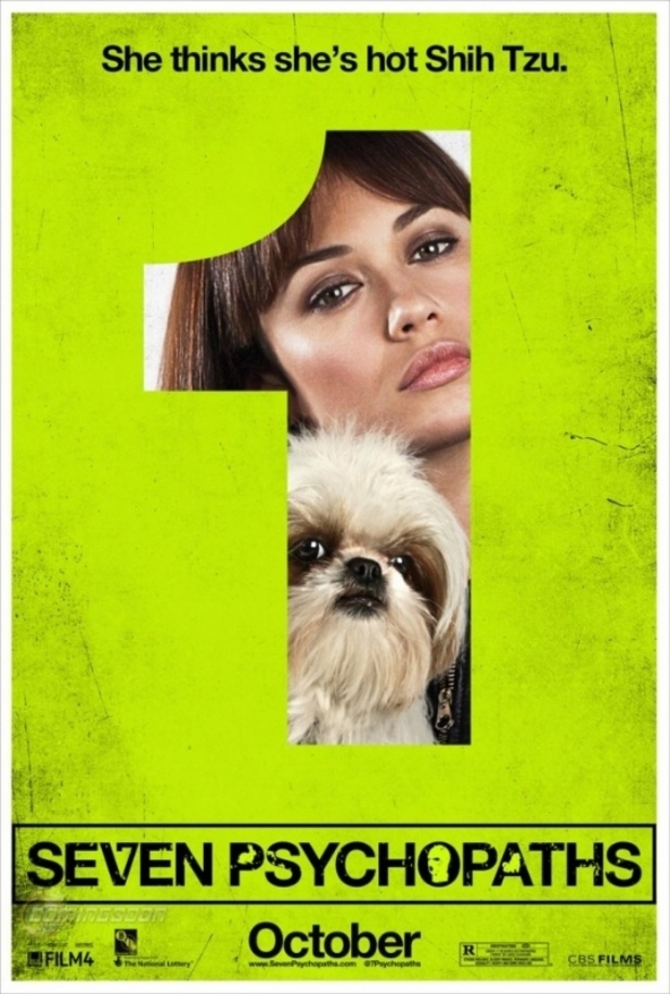 Seven Psychopaths character posters