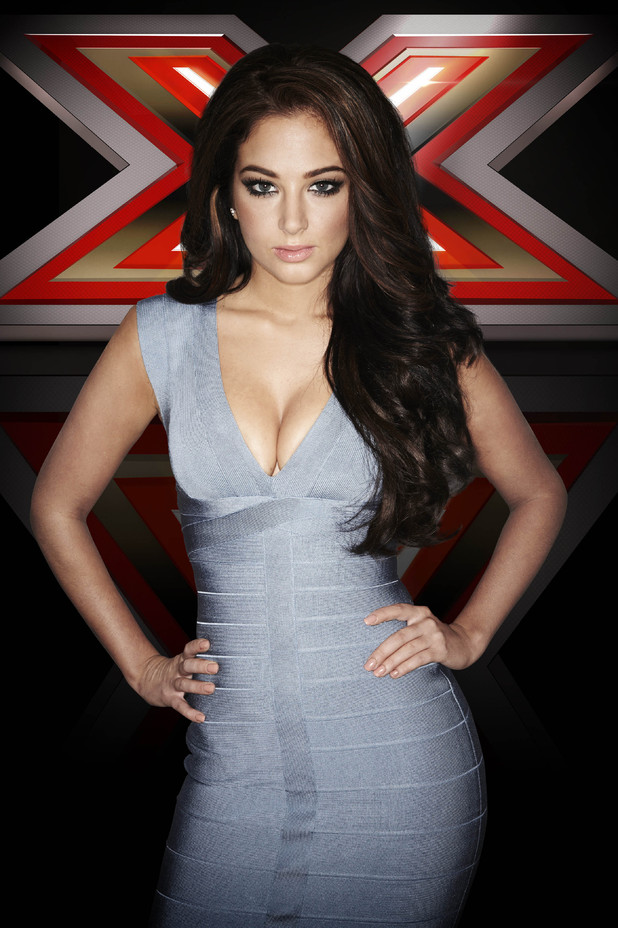 X Factor Judges 2012 Tulisa Tulisa - The X ...