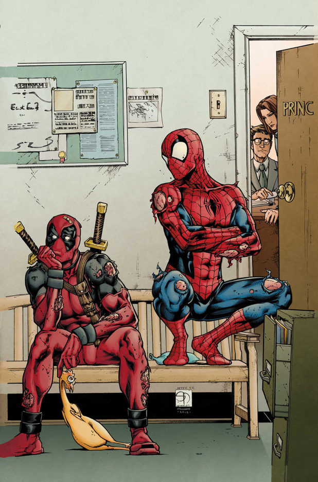 'Avenging Spider-Man' #12