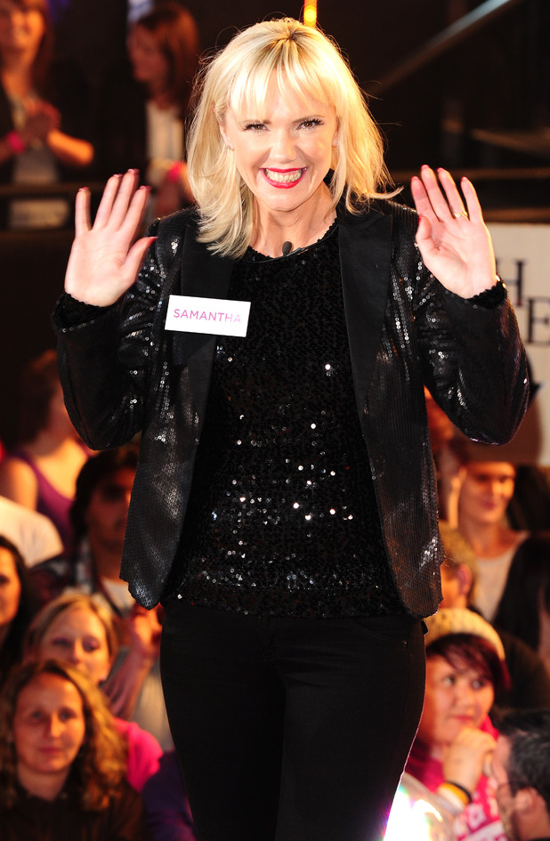 Samantha Brick enters the Celebrity Big Brother house