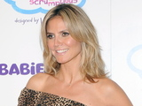 "Heidi Klum unveils her collection 'Truly Scrumptious designed by Heidi Klum' at Babies""R""US New York City"