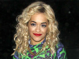 Rita Ora leaving The London Studios London, England