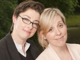 Great British Bake Off 2012 contestants: Presenters Sue Perkins and Mel Giedroyc 