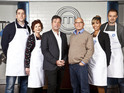 Final three Celebrity MasterChef 2012 contestants are announced.