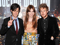 Matt Smith, Karen Gillan and Arthur Darvill arrive at London's BFI Southbank.