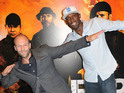 Stallone, Schwarzenegger, Statham and more hit London for The Expendables 2 premiere.