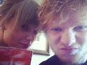 Sheeran reportedly gets the word 'Red' - the name of Swift's LP - tattooed on his arm.