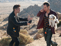 The trailer replaces the Seven Psychopaths cast with cats.