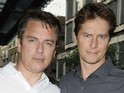 The Torchwood star married his partner of 22 years Scott Gill in California.