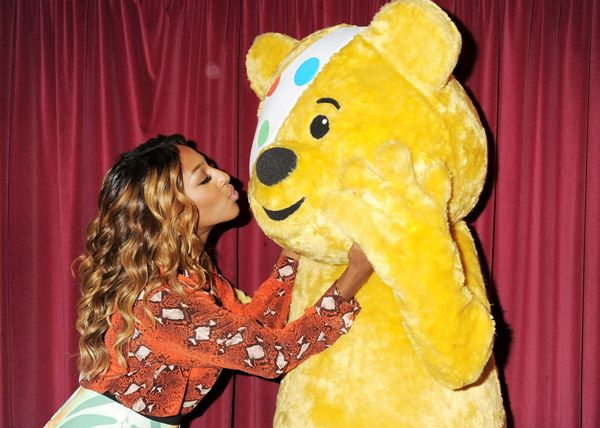 Alexandra Burke and Pudsey