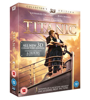 Titanic All New Collector's Edition on Blu-ray & Blu-ray 3D
