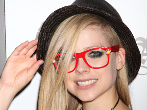 Avril Lavigne visits Abbey Dawn booth at the 2012 MAGIC Convention at Las Vegas Convention Center - Day 2 Las Vegas, Nevada - 21.08.12 Mandatory Credit: DJDM/WENN.com