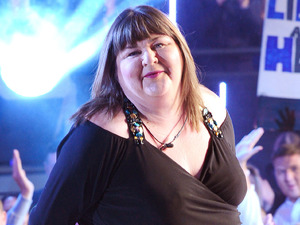 Cheryl Fergison is evicted from Big Brother.