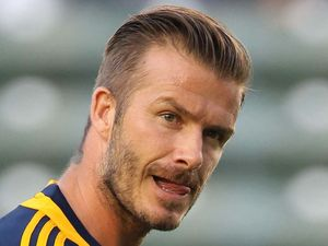 David Beckham, Ad Isidro Metapan vs LA Galaxy, Isidro Metapn