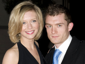 Rachel Riley and Jamie Gilbert