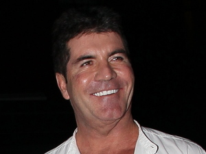 Simon Cowell leaving the ABC Kitchen, the music mogul appeared worse for wear and had wine stains on his shirt New York City, USA - 14.05.12 Mandatory Credit: WENN.com