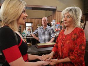 Gloria is ecstatic as she meets her long-lost granddaughter Leanne