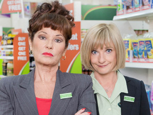 Trollied: Stephanie Beacham & Jane Horrocks