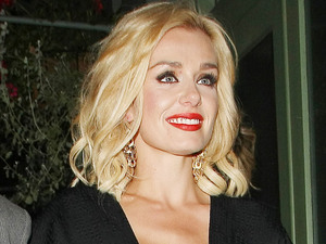 Katherine Jenkins enjoys a night out at Bunga Bunga Italian restaurant London, England - 07.07.12 Mandatory Credit: Manuil Yamalyan/WENN.com