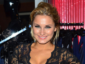 Sam Faiers aka Samantha Faiers Launch celebration of the new clothing line 'Lipstick Boutique' by Jessica Wright, at Soho Sanctum Hotel London, England - 21.08.12 Mandatory Credit: WENN.com