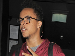Connor Cruise leaves Chinawhite nightclub, having performed a DJ set in the club, which was watched by his father Tom. London, England - 24.08.12 Mandatory Credit: Will Alexander/WENN.com